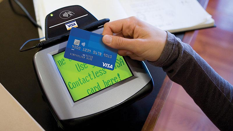 Making payment via contactless